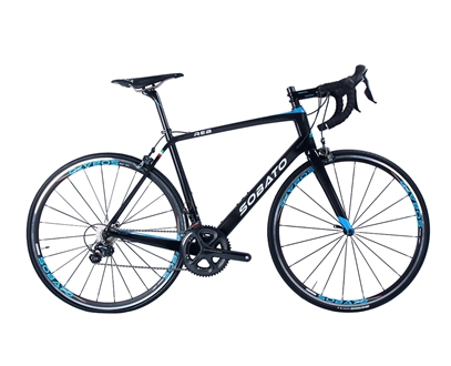 SOBATO Super Light 700C carbon road Endurance bike paint color complete bike carbon with 6800 Groupset
