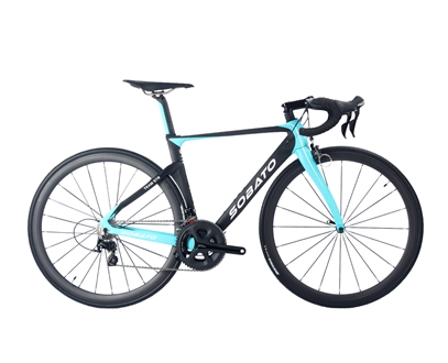 Aero carbon road bike with Shimano 5800/105 groupset